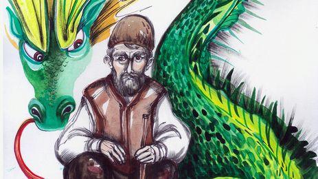 Дядо Трак и последният змей - откъс