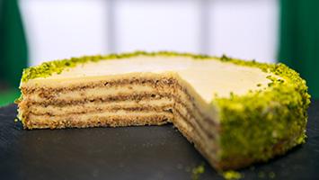 Бяла торта Гараш