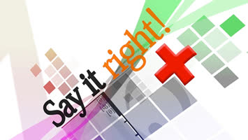 Say It Right +
